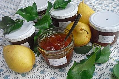 Birnenmarmelade mit Karamell 3