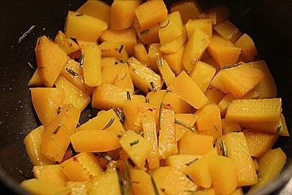 Rosmarin - Kürbis Gemüse 2