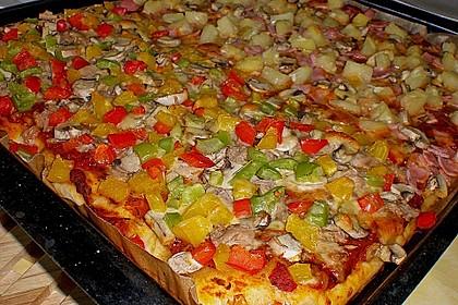 Pizzateig für Brotbackautomaten
