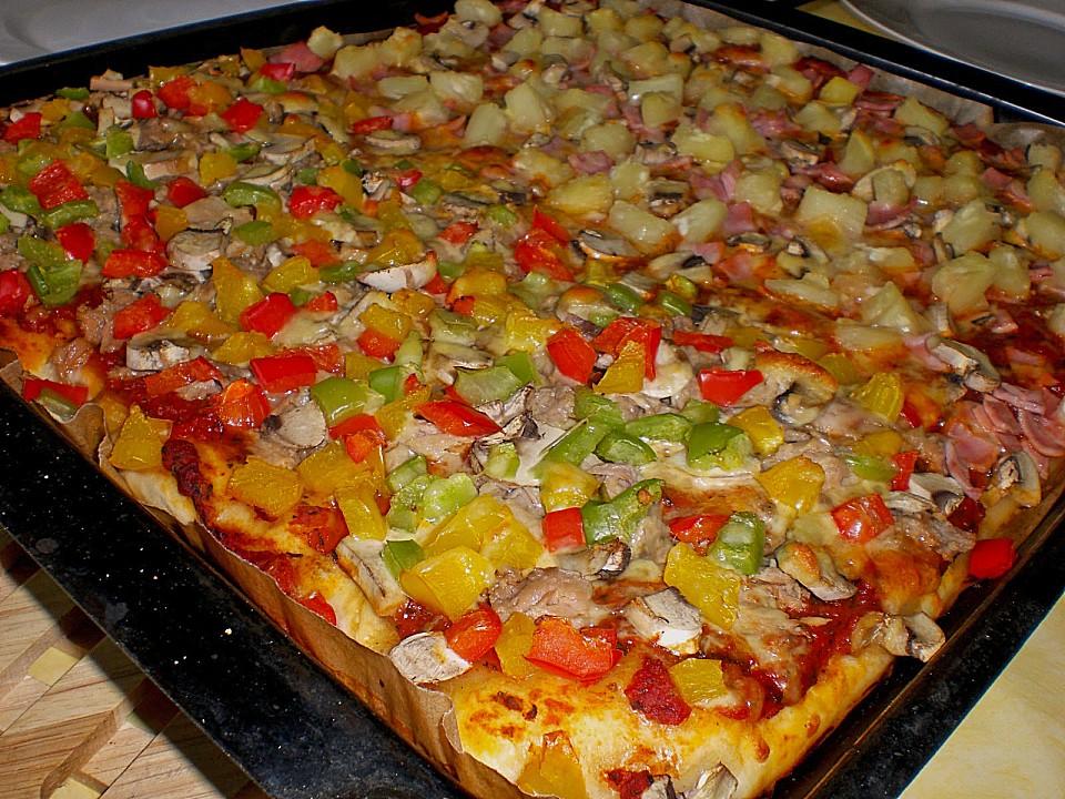 Hefeteig pizza brotbackautomat