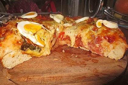 Pizzateig für Brotbackautomaten 10