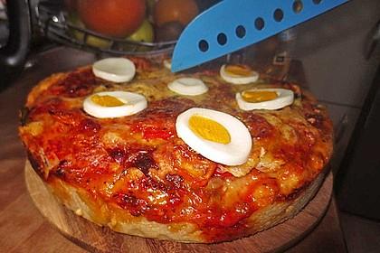 Pizzateig für Brotbackautomaten 13