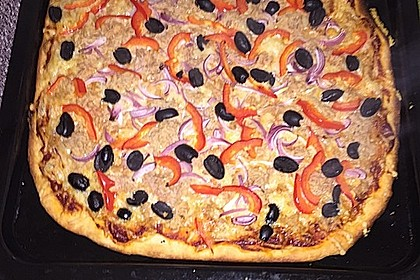 Pizzateig für Brotbackautomaten 2