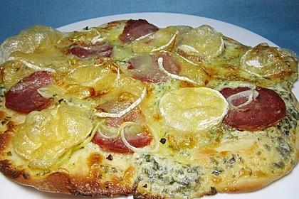 Pizzateig für Brotbackautomaten 15