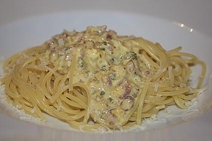 Italienische Carbonara-Sauce 6
