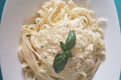 Italienische Carbonara-Sauce 11