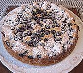 Heidelbeer - Quark - Kuchen