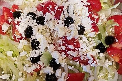 Griechischer Salat 16