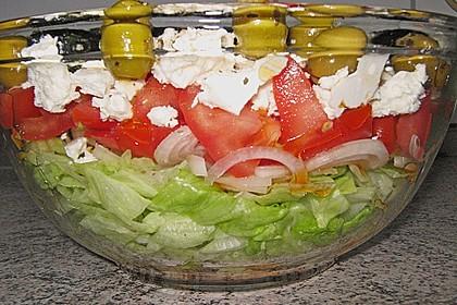 Griechischer Salat 7