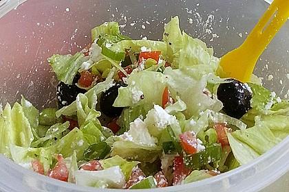 Griechischer Salat 6