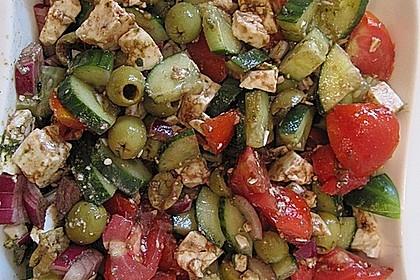 Griechischer Salat 14