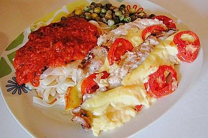 Fisch - Pfanne mit Käse 1
