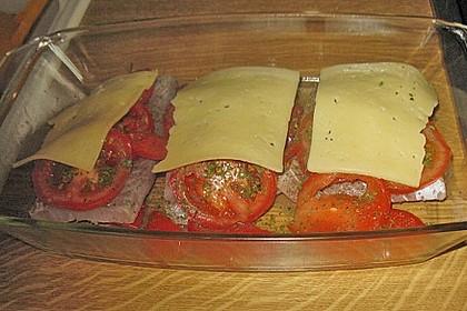 Fisch - Pfanne mit Käse 3