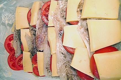 Fisch - Pfanne mit Käse 2