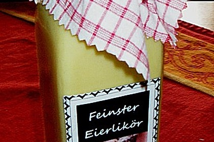 Eierlikör nach DDR-Tradition 18