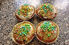 Weiße Schokoladen - Blaubeer Muffins