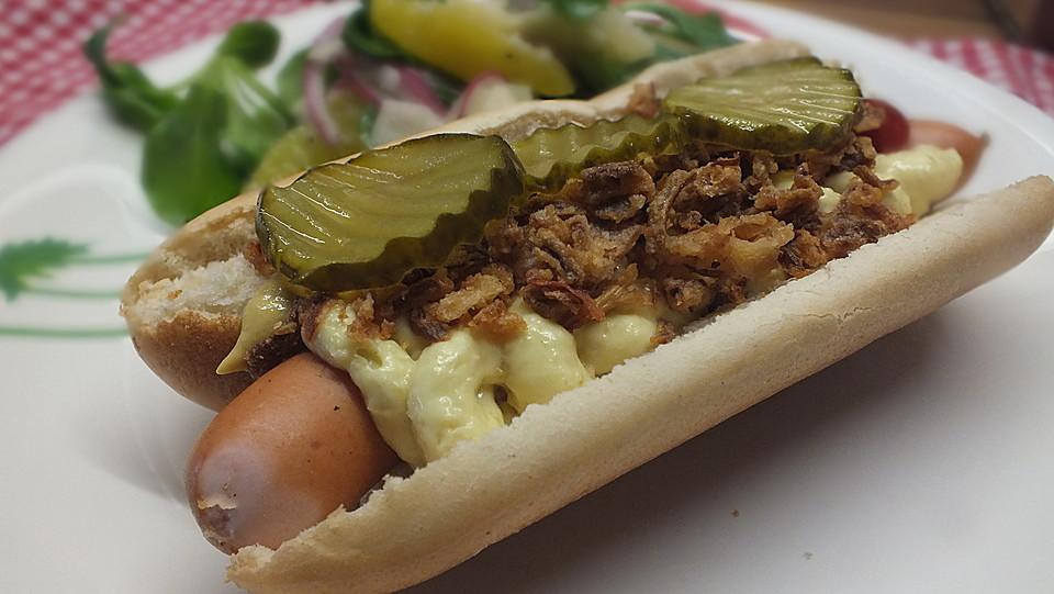 d nischer hot dog rezept mit bild von k chenschlumpf. Black Bedroom Furniture Sets. Home Design Ideas