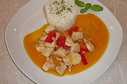 Rotes Hähnchencurry 3
