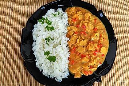 Rotes Hähnchencurry 5