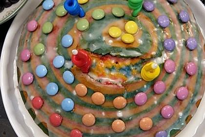 Regenbogenkuchen 190