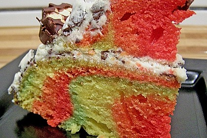 Regenbogenkuchen 200