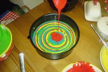 Regenbogenkuchen 170