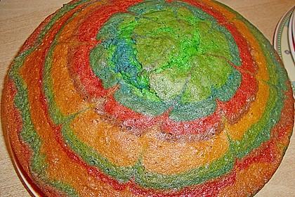 Regenbogenkuchen 120