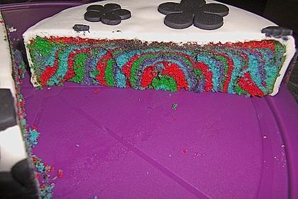 Regenbogenkuchen 70