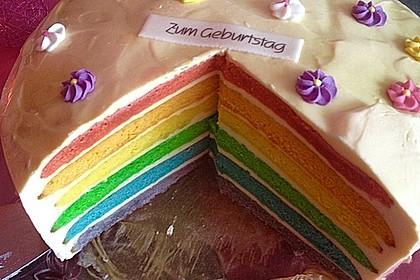 Regenbogenkuchen 1