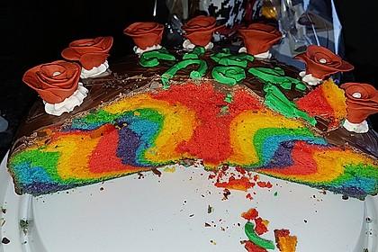 Regenbogenkuchen 210