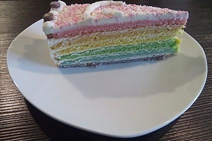 Regenbogenkuchen 3