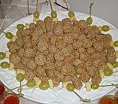 Sesam - Hackbällchen mit scharfer Soße (Bild)
