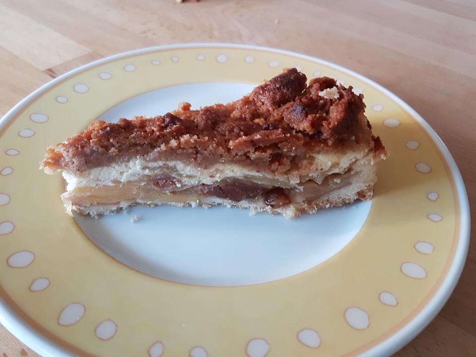 Cinnamon Crumble Apple Pie (Rezept mit Bild) von alina1st ...