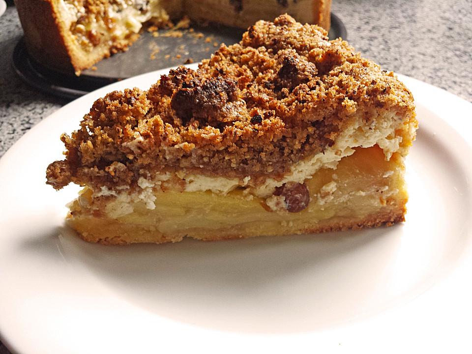 Cinnamon Crumble Apple Pie Recipe — Dishmaps