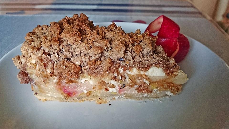 Cinnamon Crumble Apple Pie (Rezept mit Bild) von alina1st | Chefkoch ...