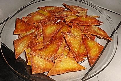 Süße Wan Tan - Blätter