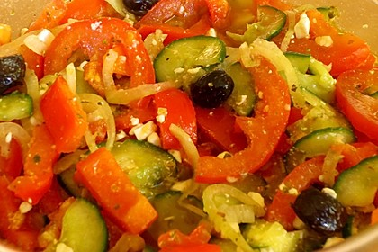 Bauernsalat, griechisch 14