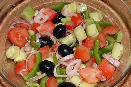 Bauernsalat, griechisch 8