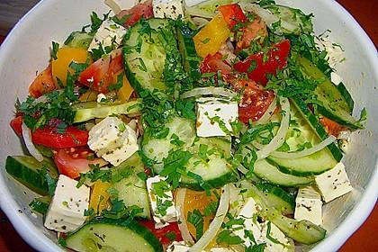 Bauernsalat, griechisch 2