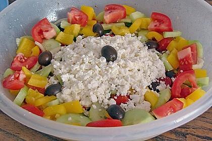 Bauernsalat, griechisch 15