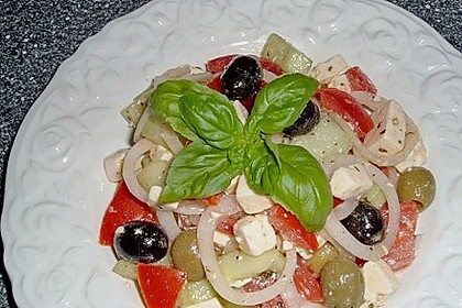 Bauernsalat, griechisch 21