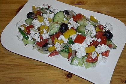 Bauernsalat, griechisch 5