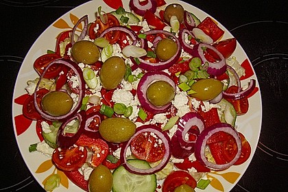 Bauernsalat, griechisch 9