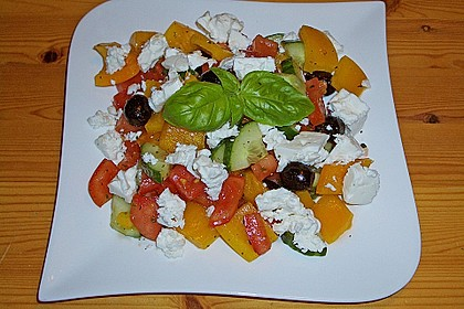 Bauernsalat, griechisch 3