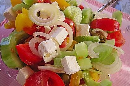 Bauernsalat, griechisch 4