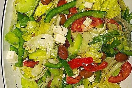 Bauernsalat, griechisch 23