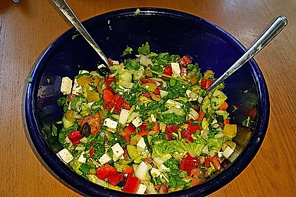 Bauernsalat, griechisch 16