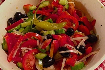 Bauernsalat, griechisch 11