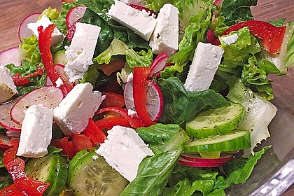 Bauernsalat, griechisch 1