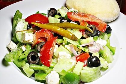 Bauernsalat, griechisch 25